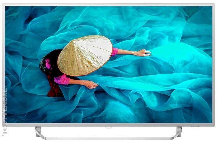 """philips 65hfl6014u/12 smart tv 65"""" argent"""
