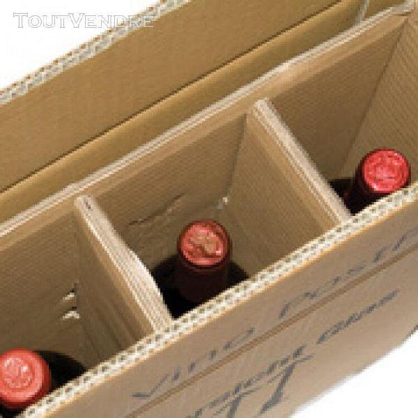 Smartboxpro cartons d'exp'dition pour 6 bouteilles