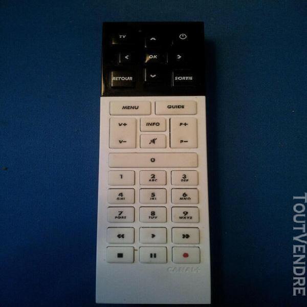 telecommande canal+ canalsat canal plus le cube