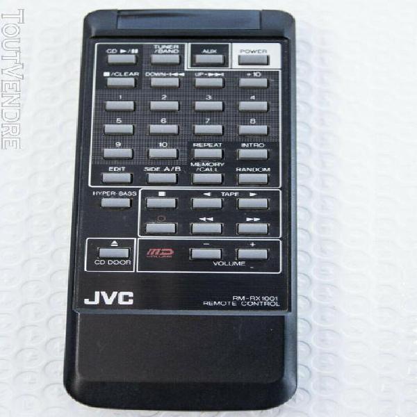 télécommande jvc rm-rx 1001