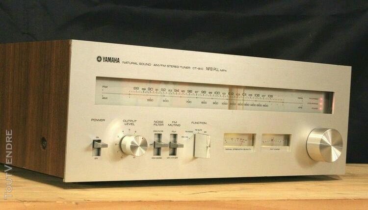 Yamaha ct 810 stero fm tuner vintage