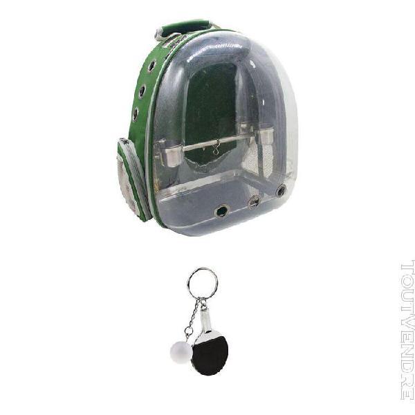 2pcs porte-clé de tennis décoration sac transport de