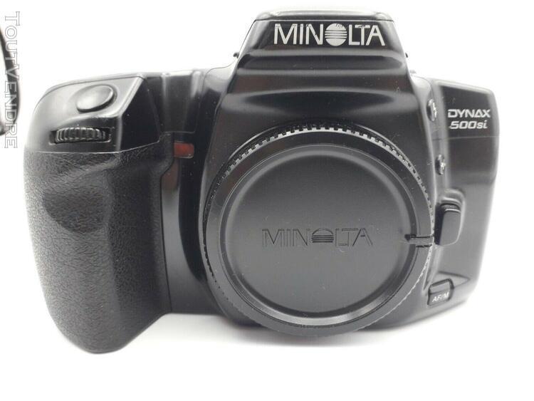 appareil photo argentique konica minolta dynax 500si occasio