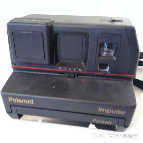 appareil photo polaroid impulse portrait avec flash