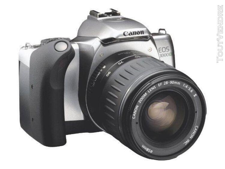 appareil photo réflex à un objectif canon eos 3000v 35mm -