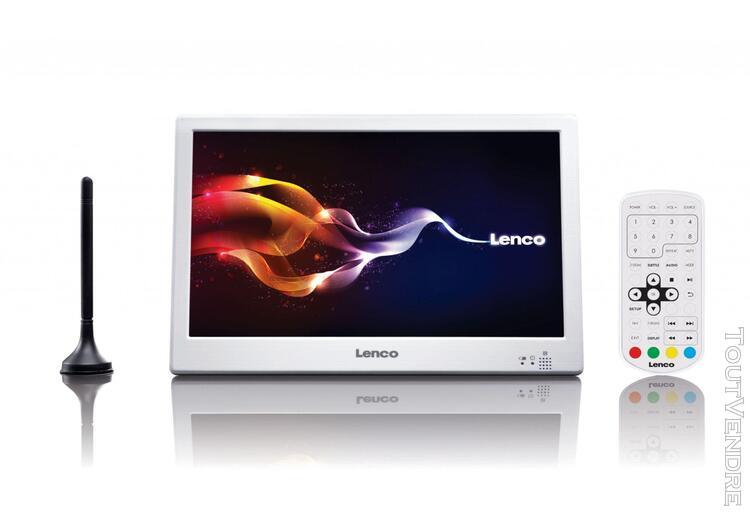 "lenco tft-1028 blanc tv 10"" led"