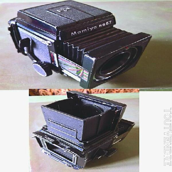 mamiya rb-67 pro s + accessoires