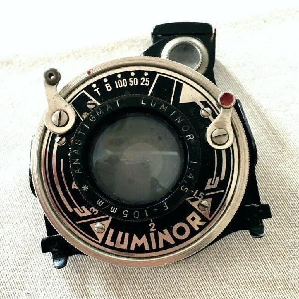 objectif luminor anastigmat f: 4,5 – f: 105 mm obturateu