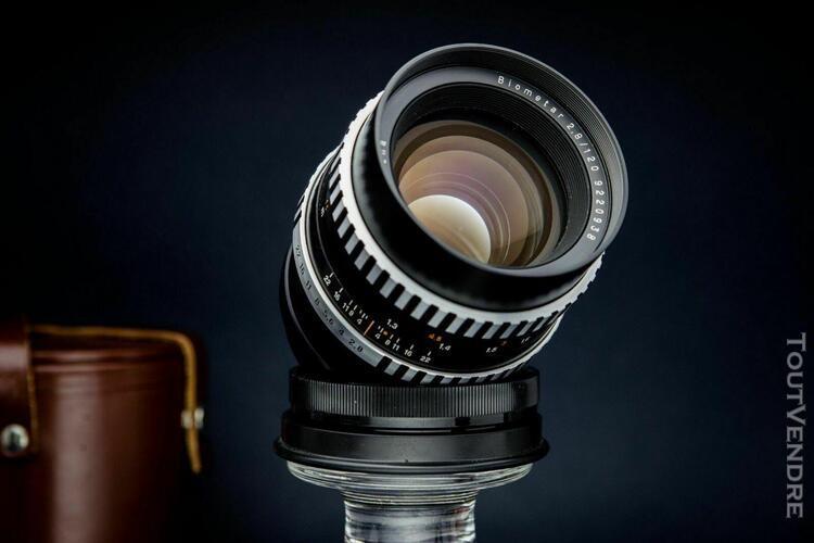 objectif pour pentacon six carl zeiss biometar 120mm f 2.8