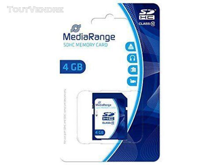 sd card 4gb mediarange sdhc cl.10