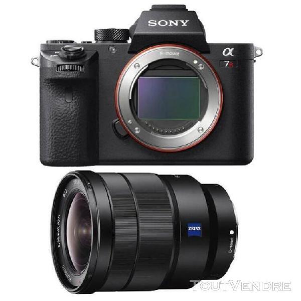 sony alpha 7r ii hybride 42.4 mpix + objectif sel 16-35mm f4