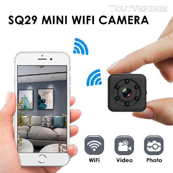 sq29 1080p wifi caméra Étanche shell night version motion