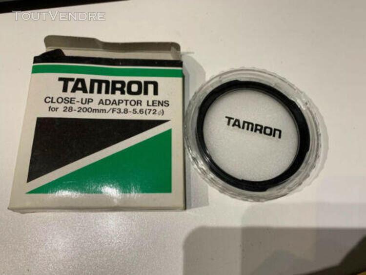 tamron adaptateur lens close-up 28-200mm f3.8-5.6 (72 de dia