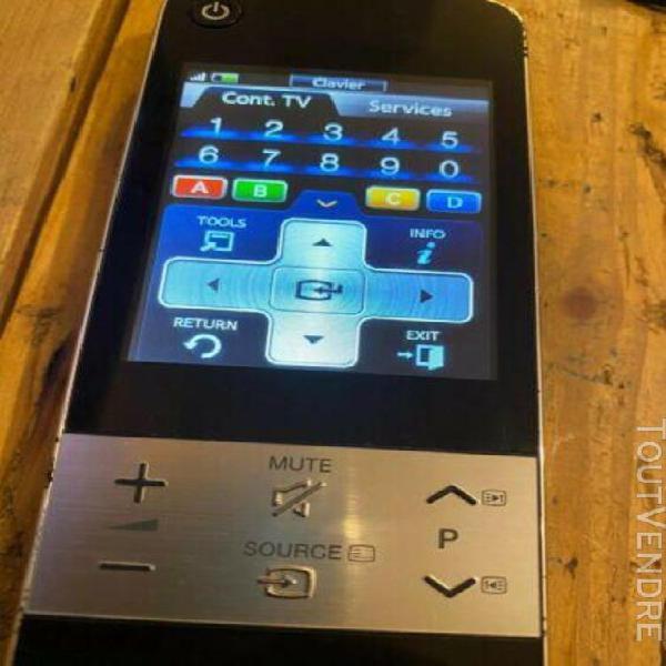 télécommande à Écran tactile samsung rmc30c2 - noire