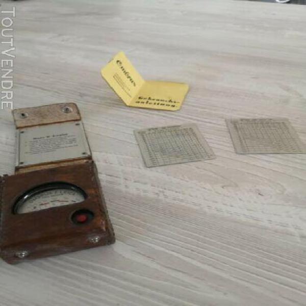 vintage ombrux auto-electric exposure meter