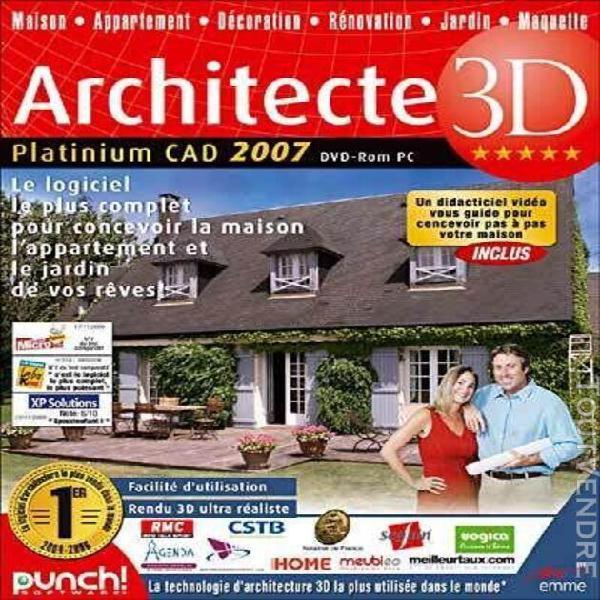 architecte 3d platinium 2007