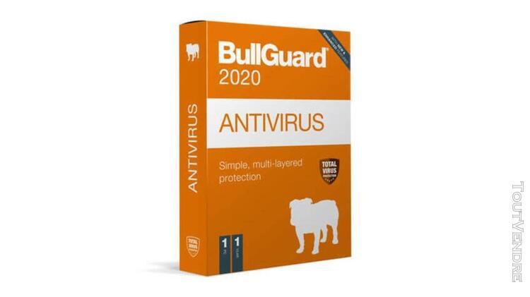 bullguard antivirus 2020 1pc 1an version boite
