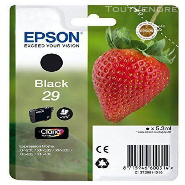 """epson - cartouche d'origine - t29 """"""""fraise"""""""" - encre claria"""