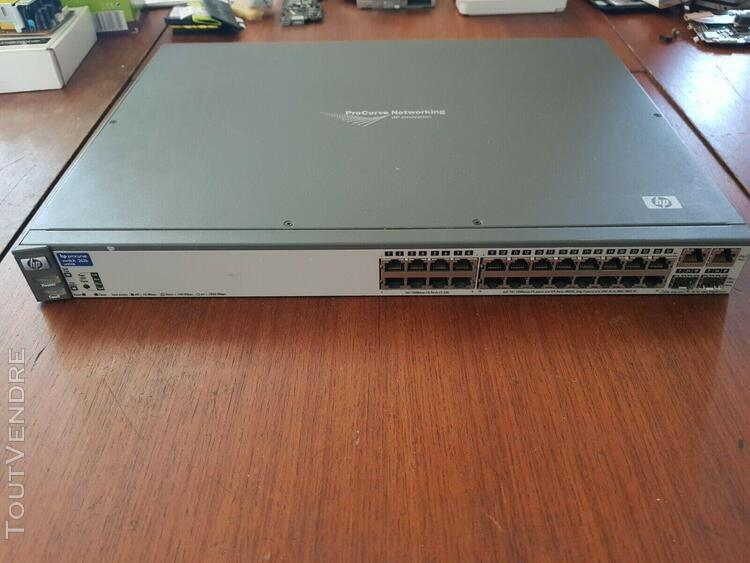 hp procurve 2626 j4900b 24 ports switch