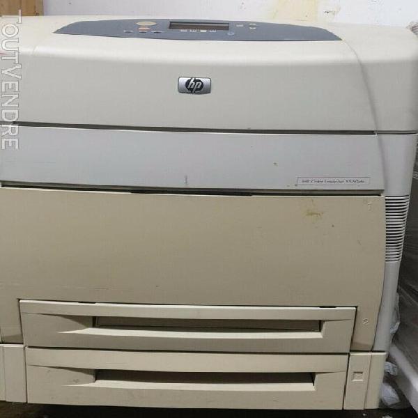 imprimante hp color laserjet 5550dtn