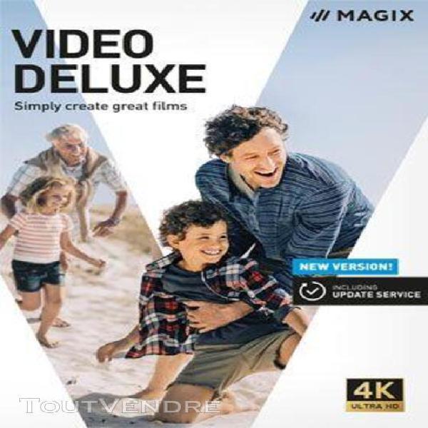 magix video deluxe 2020 - logiciel en téléchargement - pc