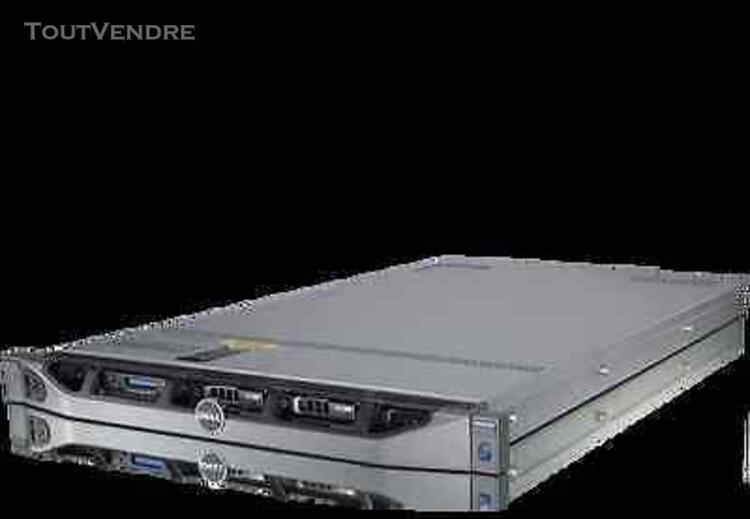serveur dell r610 2 intel xeon e5649 / 128go ram / 2x 900 go