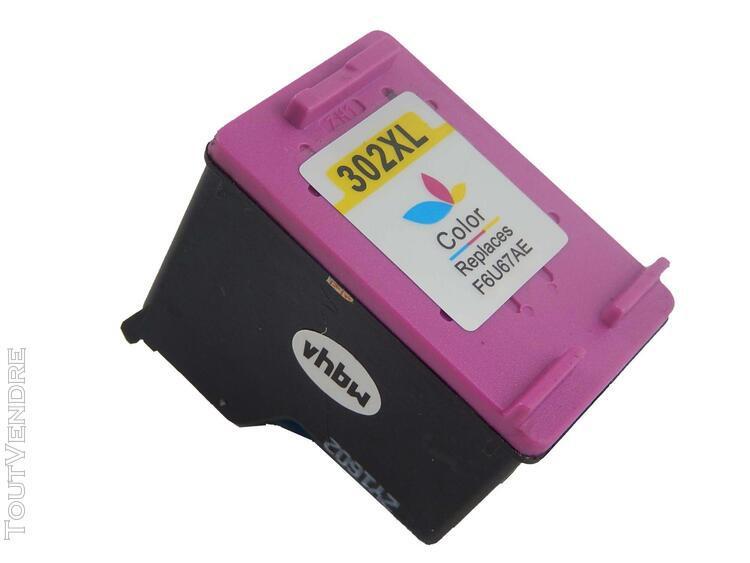 vhbw cartouche d'encre compatible couleur pour hp deskje
