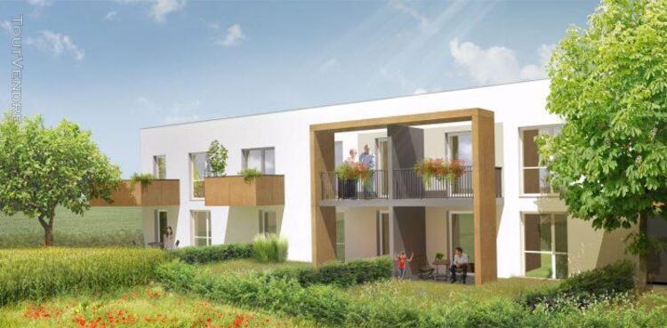 3 pièces 62 m² dans programme neuf
