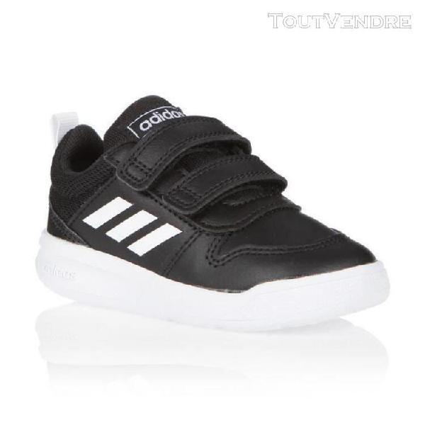 Adidas baskets vector i - bebe - noir et blanc - 21 adidas o