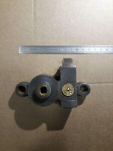 "Ancienne grosse serrure fonte ""c*g"" carré 8x8mm,lock"