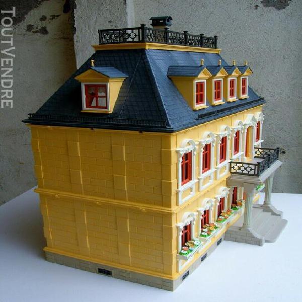 Maison de poupées playmobil 5301 avec accessoires sujets e