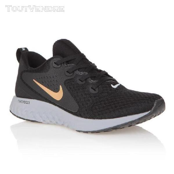 Nike baskets rebel react - homme - noir et gris - 41