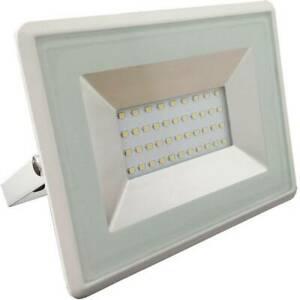 Projecteur led extérieur 30 w x led intégrée blanc chaud