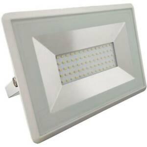 Projecteur led extérieur 50 w x led intégrée blanc