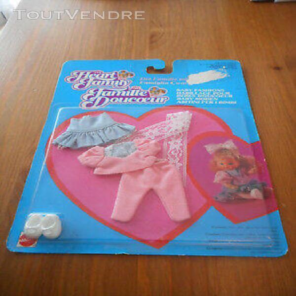 Tenue bébé famille doucoeur barbie heart family