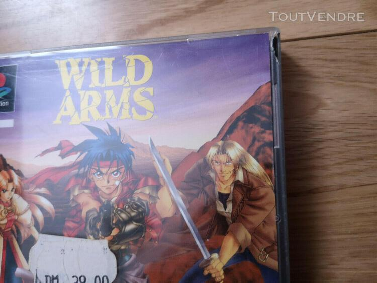 Wild arms - jeu sony playstation 1 ps1 - complet boite notic