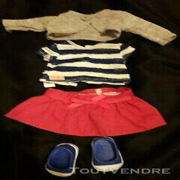 accessoires et habits pour grande poupée