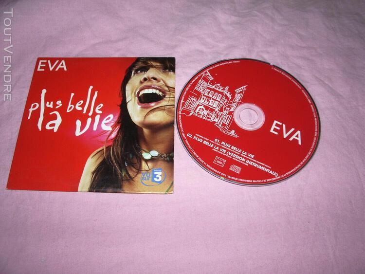 Cd album + cd single plus belle la vie eva serie tv fran