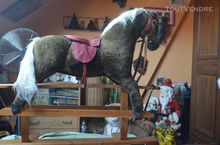 cheval a bascule anglais vintage marque pegasus