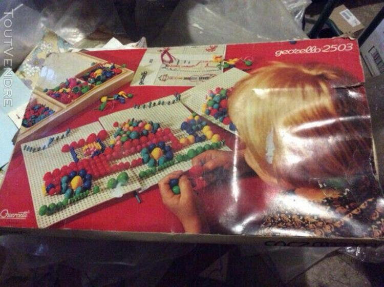 jeu mosaique vintage georello quercetti