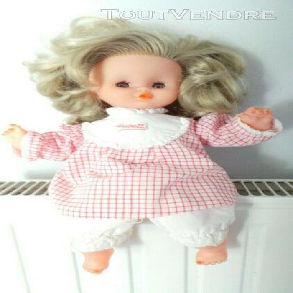 jolie poupée clodrey sucette 30 cm vintage