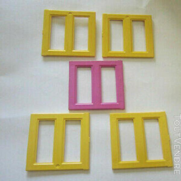 lego duplo lot de 5 fenêtres volets pour facade de maison