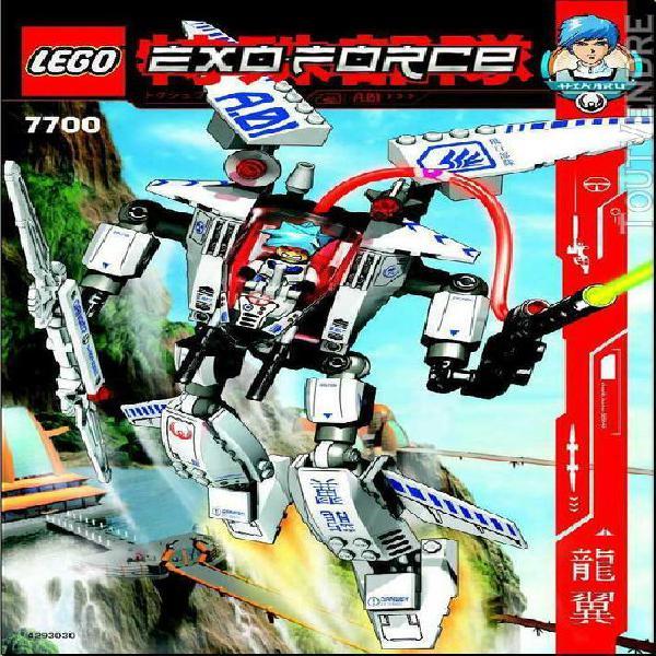 lego exo-force set 7700 100% complet sans boite ni notice