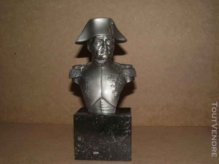 les etains du prince napoleon l'empire buste de l'empereur