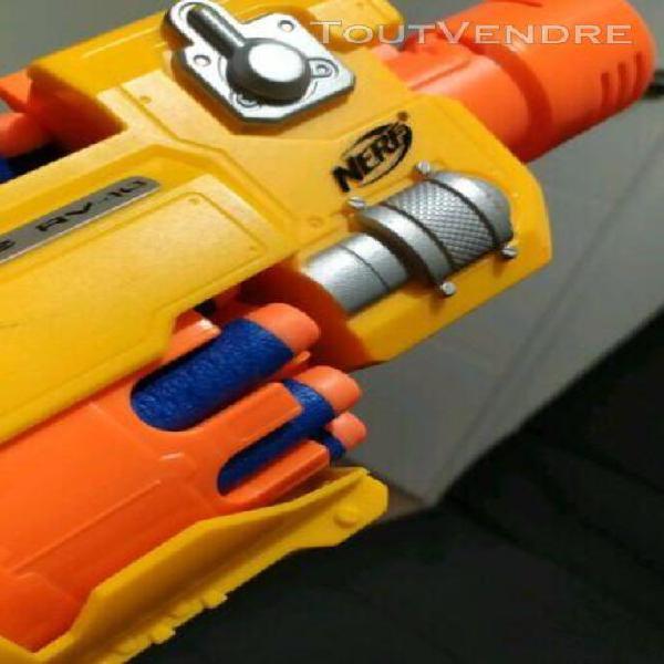 nerf n-strike barricade rv-10 (+10 balles offertes)