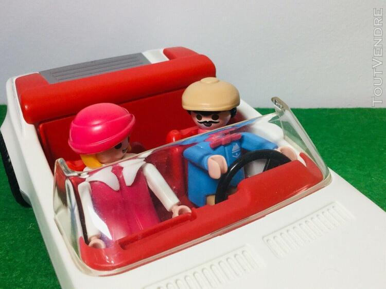 playmobil 3758 - voiture décapotable cabriolet - vintage -