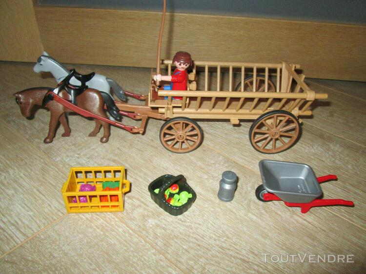 playmobil: gros lot ferme