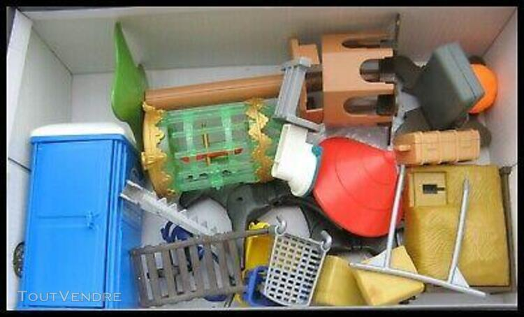 playmobil vintage, gros d'accessoires a voir en plusieurs ph