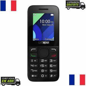 Telephone portable mobile alcatel ot1054d gsm double dual