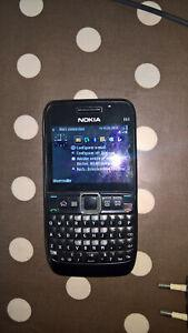 Téléphone mobile nokia e63 - noir
